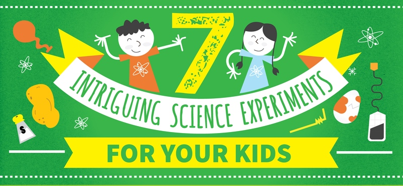 7 Intriguing Science Experiments Kids Can Do At Home