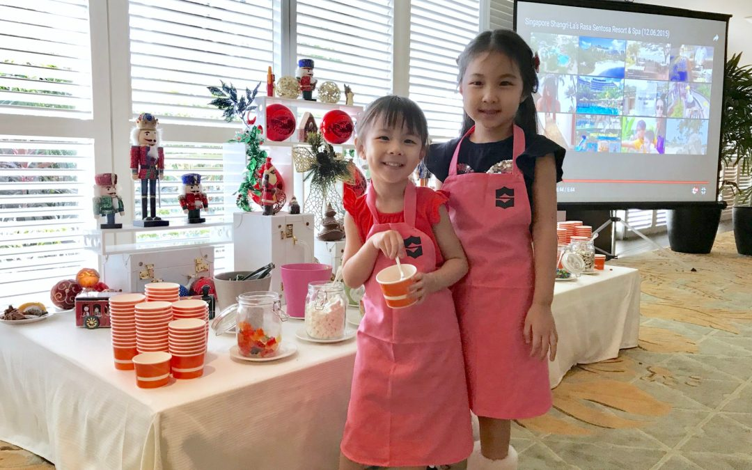Christmas Gingerbread House Workshop at Shangri-La Singapore