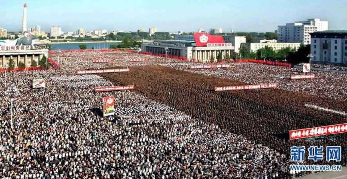DPRK: Thousands of People Gathering, Denouncing Lee Myung-bak Government
