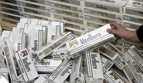 German Customs Seized 13 Million Counterfeit Cigarettes from China