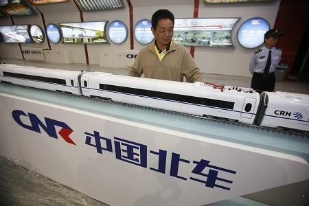 China export key technology of high-speed rail overseas for the firs time