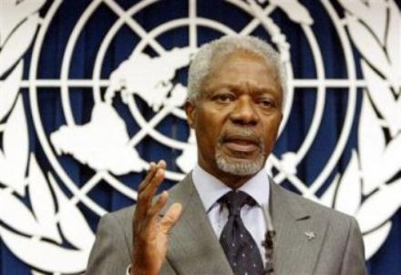 China calls on international community to support Annan
