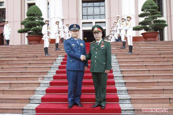 Ma Xiaotian attends 6th China-Vietnam Defense, Security Consultation