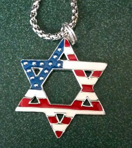 Star of David American Flag