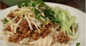Chinese Minced Pork Noodles