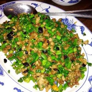 Minced-Pork-Black-Bean-Leek