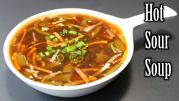 Hot and Sour Soup! Some Health Benefits You Should Know About