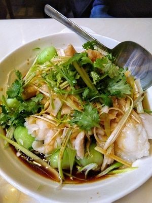 STEAMED-GINGER-AND-SCALLION-FLOUNDER-FISH-FILLET