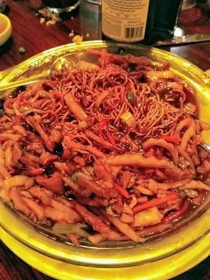 Pan-Fried-Noodles-Pork