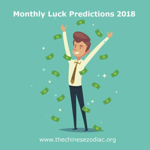 lucky months in 2018 for each chinese zodiac sign