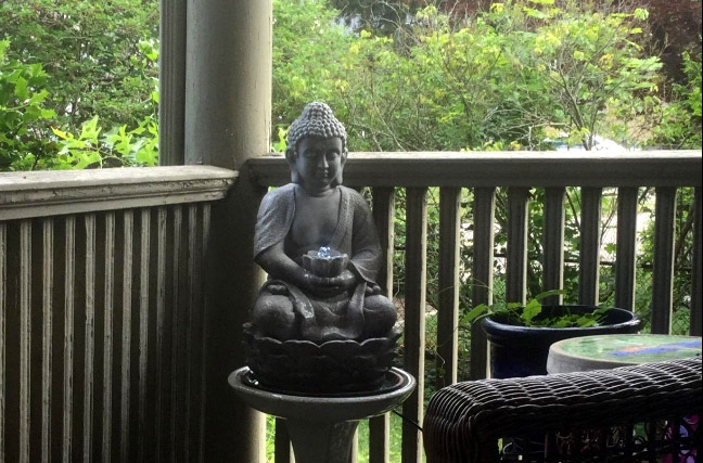 Buddha Led Statue With Fontain For Garden