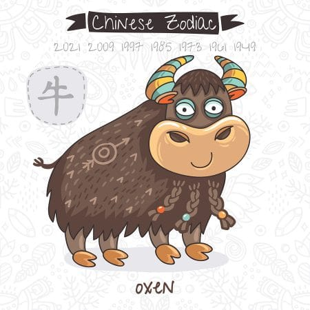 ox 2019 horoscope - year of the ox