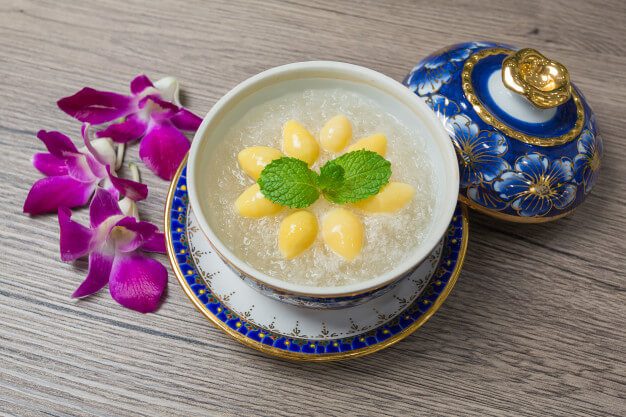 bird nest soup with chinese herbs