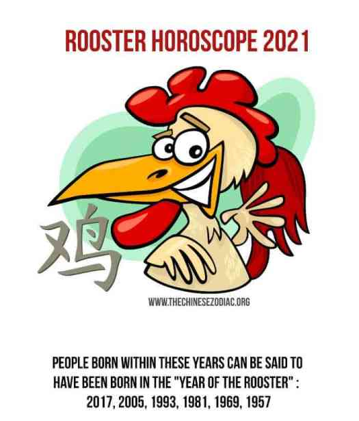 year of the rooster 2021 horoscope