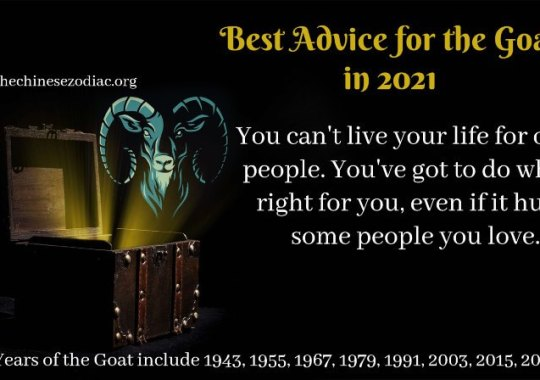 Year of the Goat – 2021 Horoscope & Feng Shui Forecast