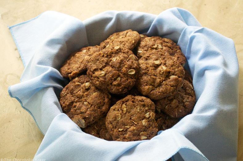 Vegan Anzac Cookies