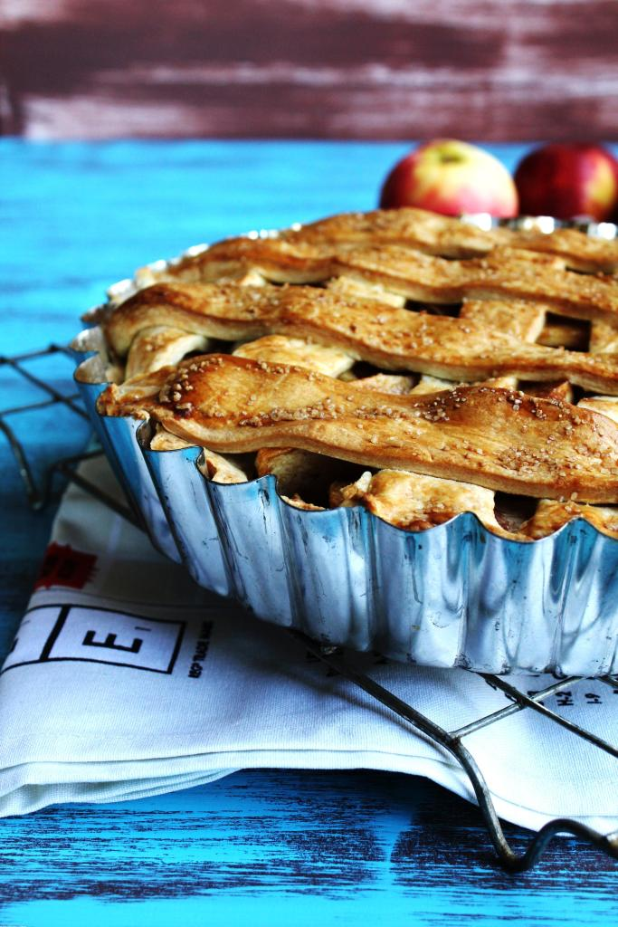 Spiced Apple Pie - The classic fall favourite has been taken up a notch with a short, buttery pastry and deliciously warming spiced flavours. This pie is great for anyone as it's so easy to make!