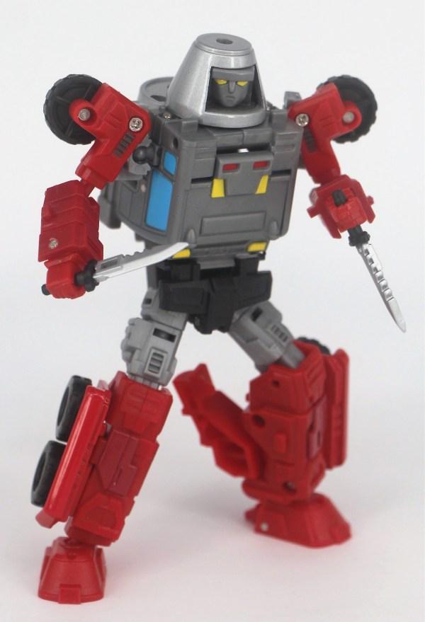 Action Toys Machine Robo MR-05 MIXER ROBO