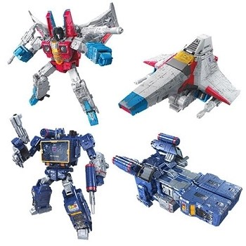 Transformers: Siege Voyager Wave 2 Set