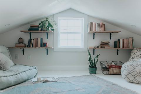 Simple Attic Space Renovation