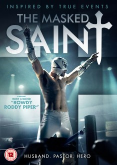 The Masked Saint UK DVD Cover