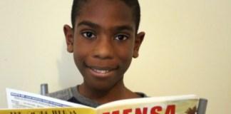 11-year-old boy with higher IQ than Einstein
