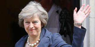 Britain's new Prime Minister Theresa May