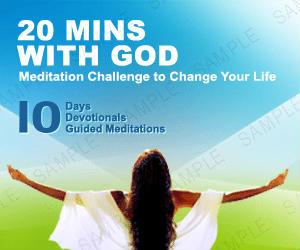 christian meditation challenge
