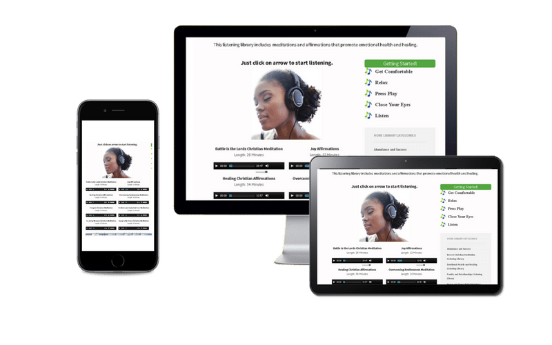 Devices for Christian Meditator Membership Listen Library