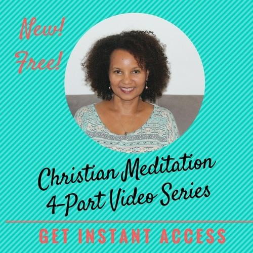 christian meditation video series