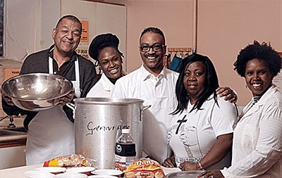 Grant African Methodist Episcopal Church Launches Soup