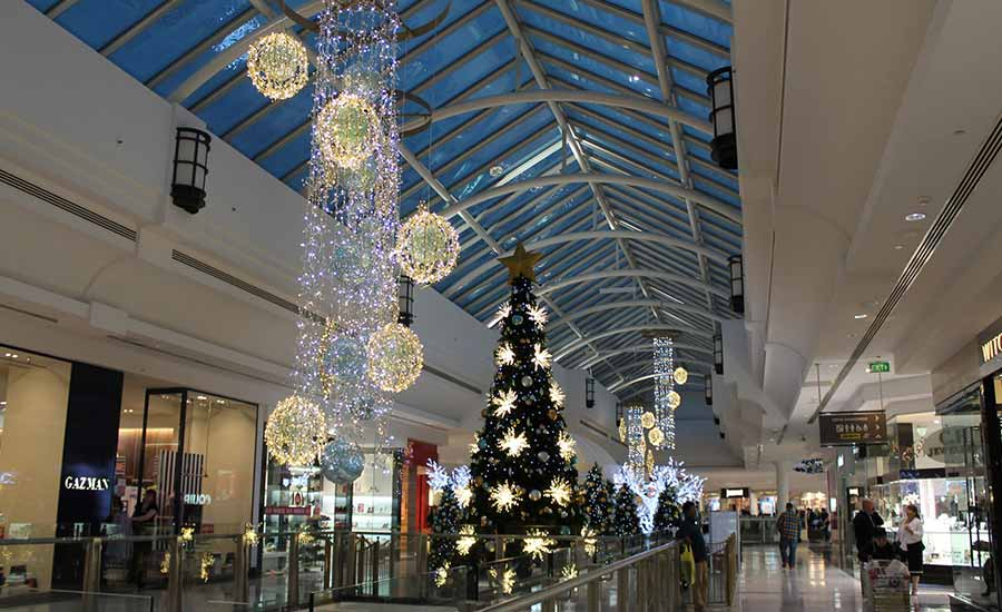 The Glen Shopping Centre Christmas Decorations