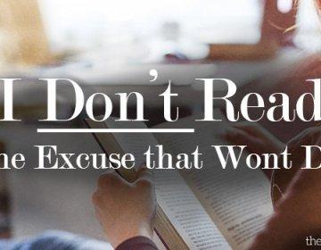 I Don't Read