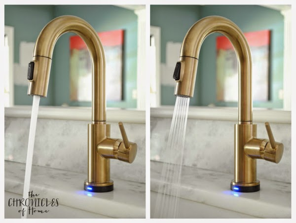 the prettiest kitchen faucet you ever