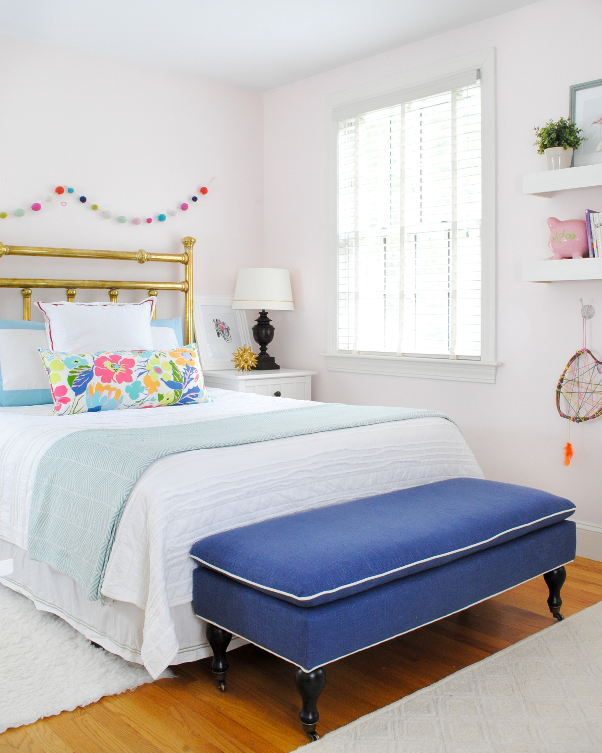 Big Girl Bedroom Update - New Mattress and Bedding - The ... on Beautiful Rooms For Girls  id=82019