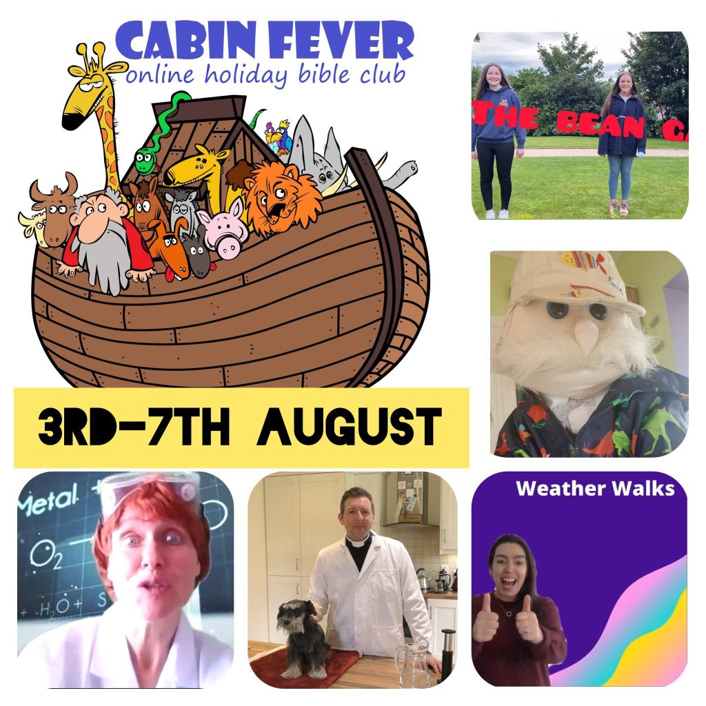 Meet The Professors at 'Cabin Fever' Holiday Bible Club online