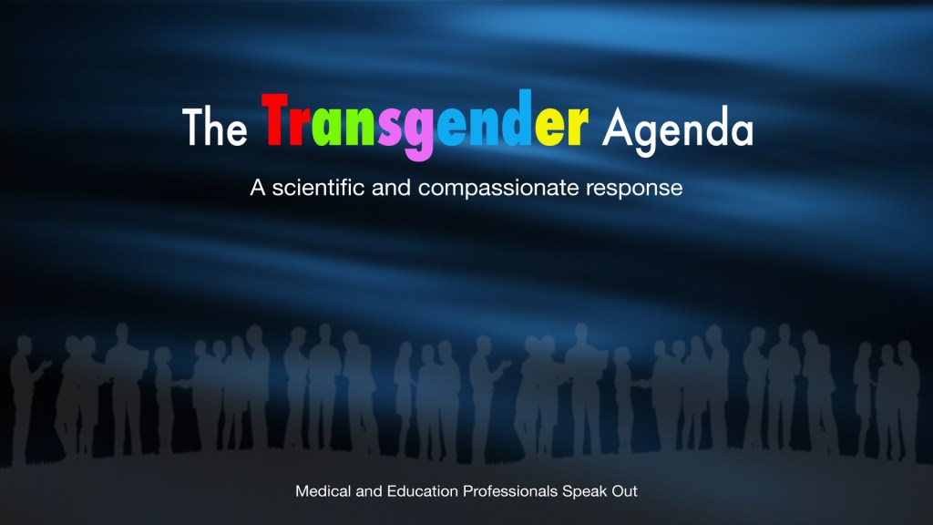 'Truth in Science' produces DVD - The Transgender Agenda