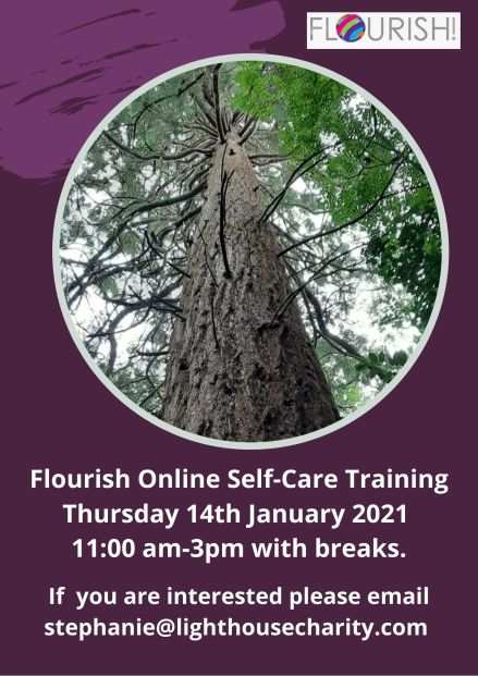 Flourish! Suicide Prevention Online Training ~ January & February 2021