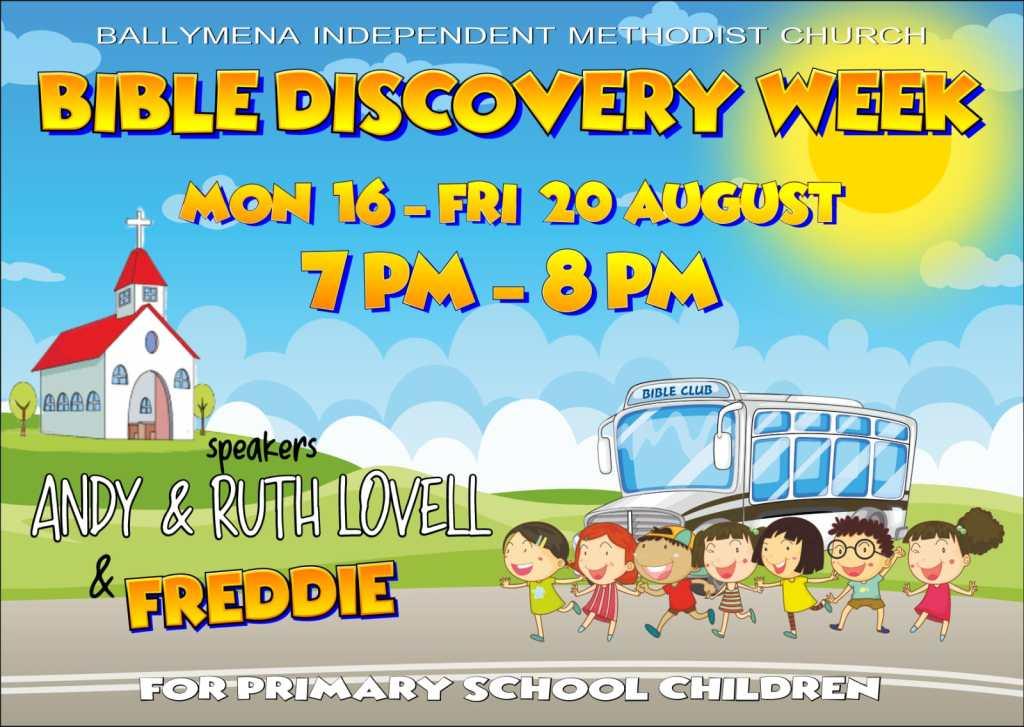 Bible Discovery Week at Ballymena Independent Methodist Church
