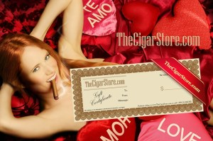 Valentines Day Cigar Gift Certificate