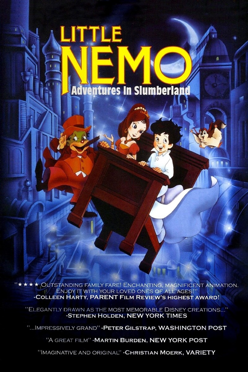 Little Nemo - Adventures in Slumberland (1989) | Animated and Underrated