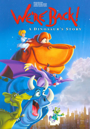 We're Back!: A Dinosaur's Story (1993) | Animated and Degraded