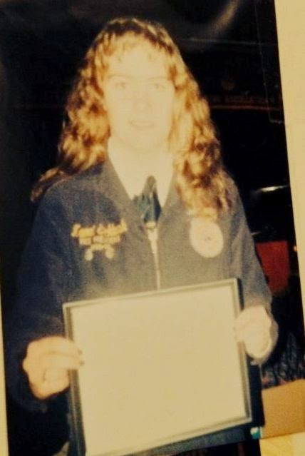 Receiving My State FFA Degree