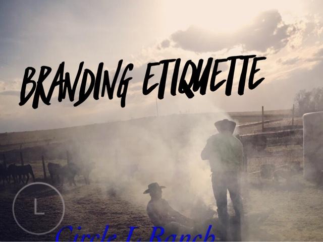 Branding Etiquette
