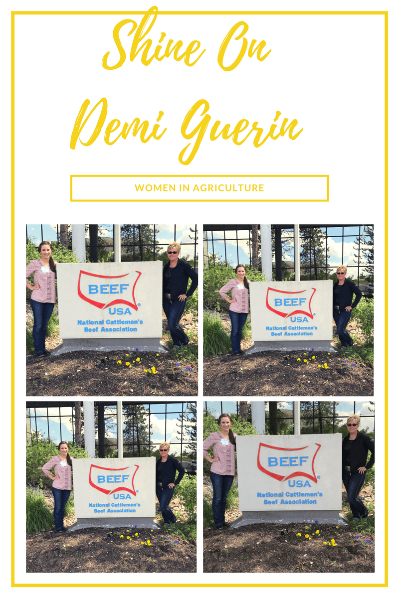 Shine On~ Women In Agriculture~ Demi Guerin