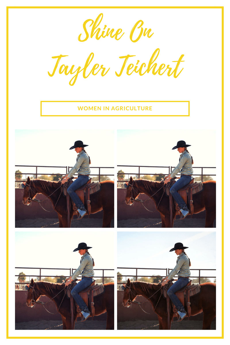 Shine On~Women In Agriculture~Tayler Teichert