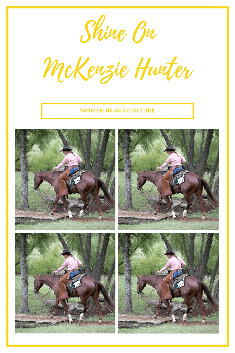 Shine On-Women In Ag- McKenzie Hunter Photo Credit To:Buckles & Bling Photography LLC