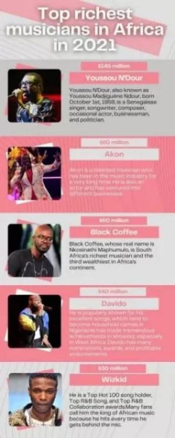 Top 10 Musicians in Africa