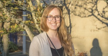 Advocate against sexual assault joins college