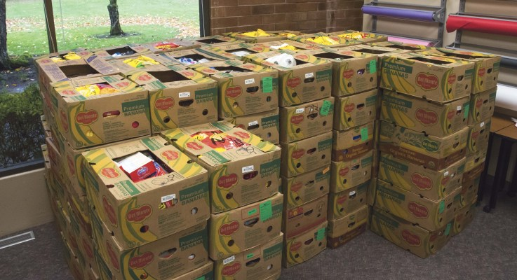 Cougar Cave nets big food donation